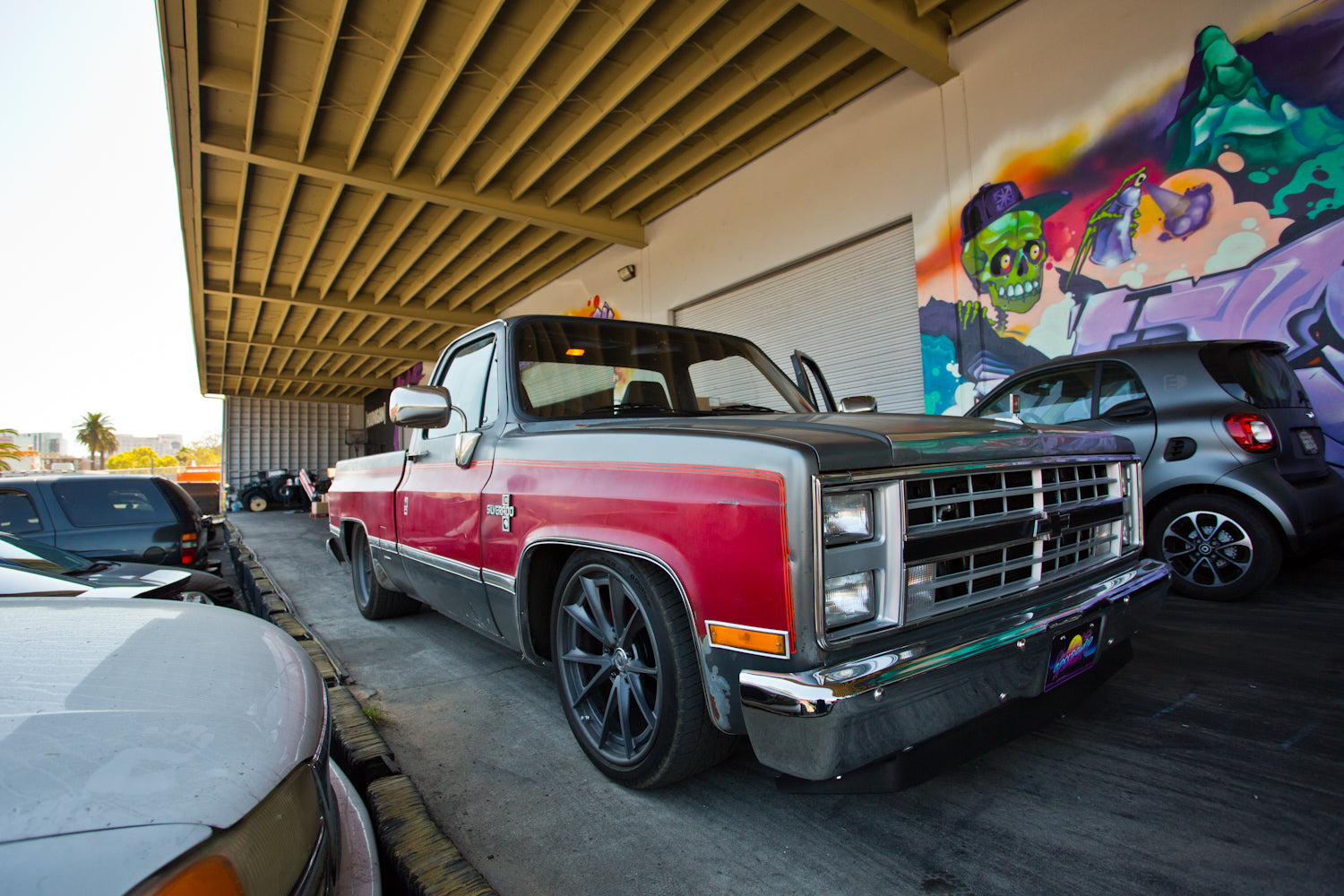 Ultimate Squarebody Street Truck? 600+ hp Supercharged LS '86 Silverado  That Handles, Too
