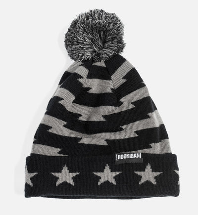 STARS AND STRIPES pom beanie