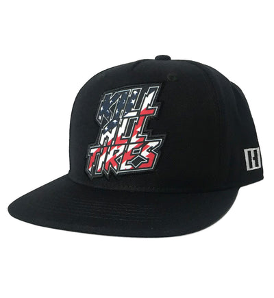 KILL ALL TIRES snapback hat