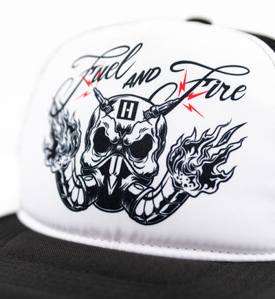 FUEL AND FIRE trucker hat