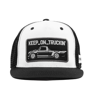 KEEP ON TRUCKIN trucker hat