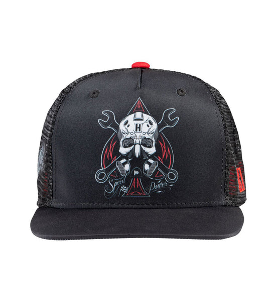SPEED AND POWER trucker hat