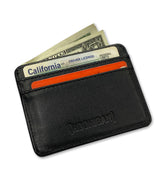ICON leather id card holder