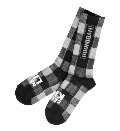 CHECKERS crew socks