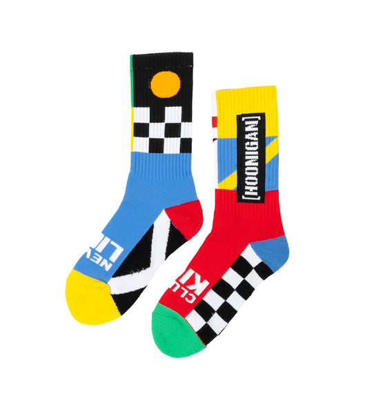 FLAGS crew socks