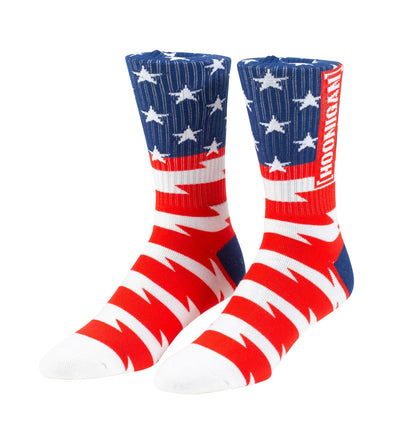 STARS & STRIPES crew socks