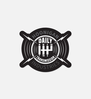 DAILY TRANSMISSION sticker