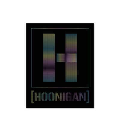 H BOX CHROME  sticker