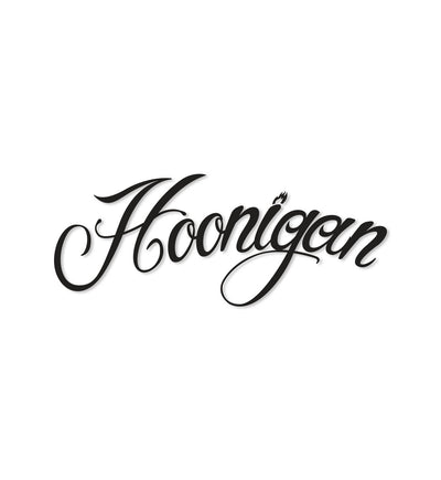 HOONIGAN FIRE SCRIPT sticker