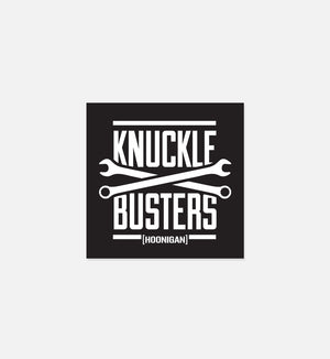 KNUCKLE BUSTERS sticker