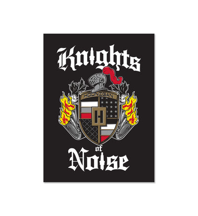 KNIGHTS OF NOISE sticker