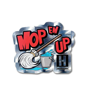 MOP EM UP sticker