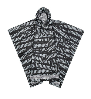 SCATTER PRINT PONCHO