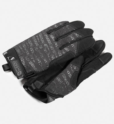SCATTER PRINT glove