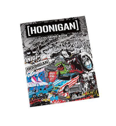 HOONIGAN coloring book