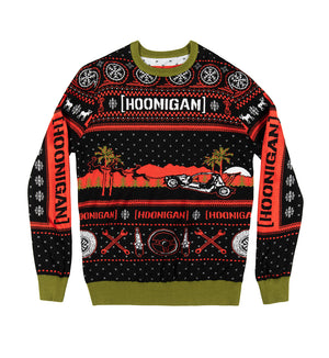 UNCLE RICO ugly knit sweater