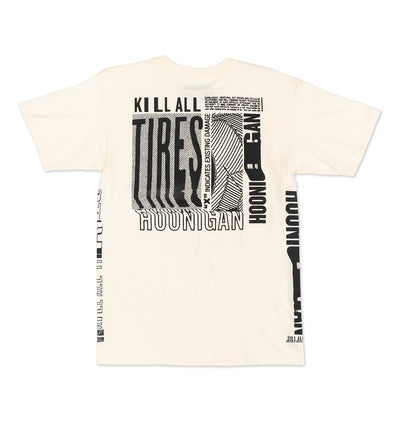 Kill All Tires Warp tee shirt