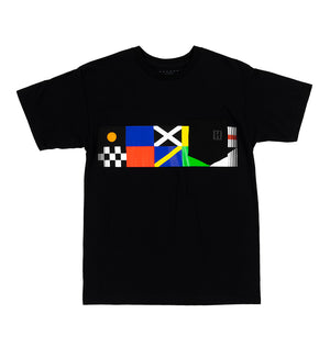 FLAGS ss pocket tee
