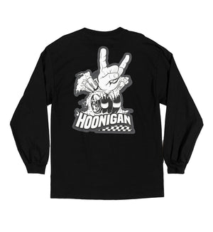 Horns For Hooning LS tee shirt
