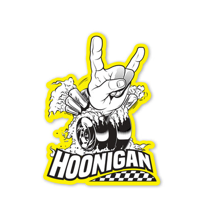Horns For Hooning Sticker