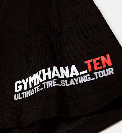 GYMKHANA TEN HOONITRUCK SQUARE UP ss tee