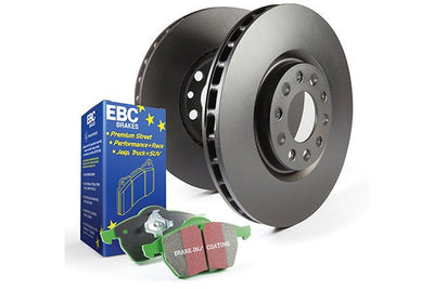 EBC Brake Kits (Rear Set - Premium Rotors) | Ford F-150 5.0L V8  (2011-2018)