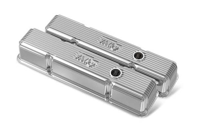 Holley Valve Covers (Federal Emissions) (Holley Valve Covers [Part # 241-241]) | Chevy Camaro - 5.7L (350ci) V8, engine VIN = H  (1972-1975)