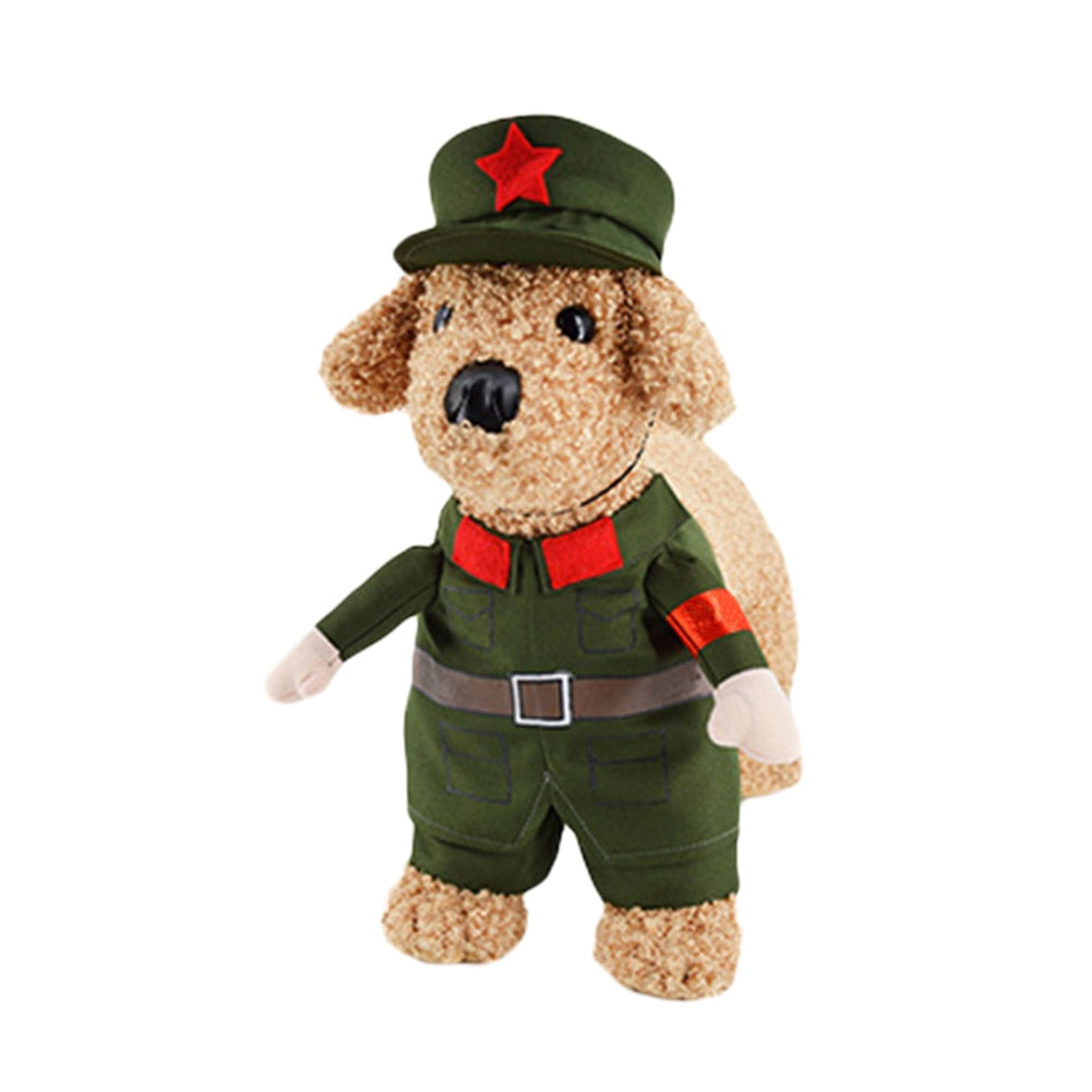 Cute Red Army Soldier Dog/Cat Costume