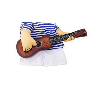 Funny Guitar Player Cosplay Costume For Dogs/Cats