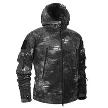 Mege Brand Autumn Winter Military Fleece Camouflage Tactical Men's Clothing Polar Warm Multicam Army Men Coat Outwear Hoodie