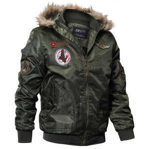 Gear Winter Military Bomber Jacket