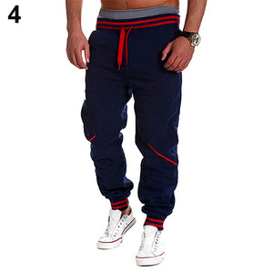 Men's Fashion Jogger Dance Wear Baggy Slacks Trousers