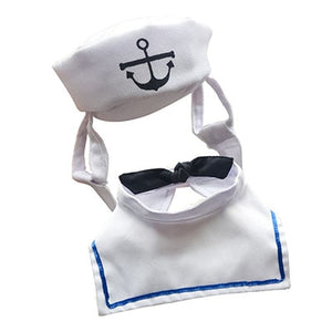 Sailor Cosplay Costume For Small Dogs/Cats