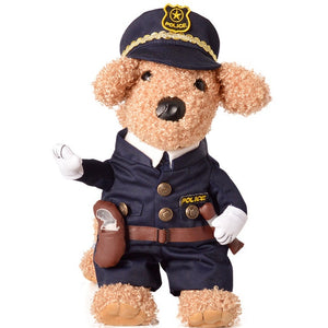 Cowboy / Policeman / Doctor / Nurse / Pirate / Racer Halloween Costumes For Dogs/Cats