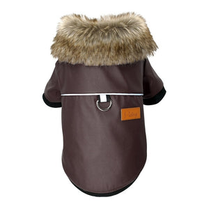 Winter Waterproof Cotton Coat for Small Medium Dogs
