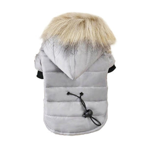 Pet Dog Coat Winter Warm Small Dog Clothes For Chihuahua Soft Fur Hood Puppy Jacket Clothing for Chihuahua Small Large Dogs