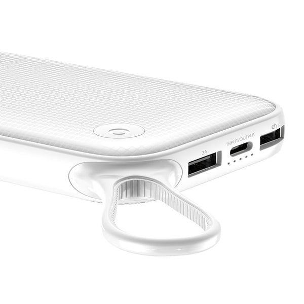 WHITE Quick Charge USB Power bank High Powered 20000mAh