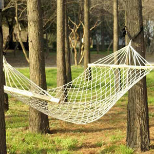 Outdoor Swing Hanging Camping Cotton Bed Patio Spreader Hammock