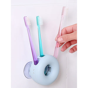Suction Cup Toothbrush Holder