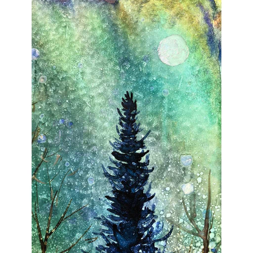 """Ethereal Night"" Alcohol Ink"