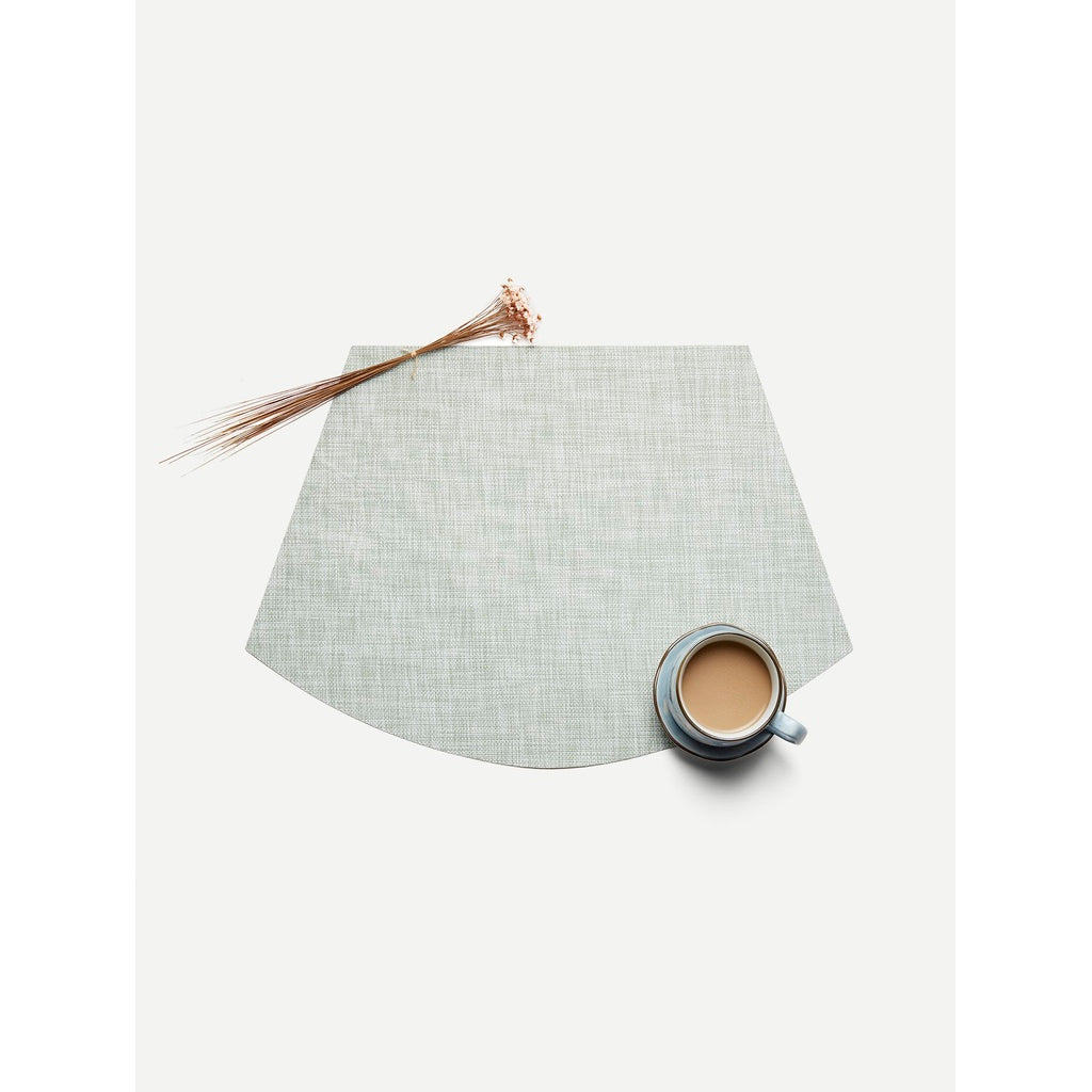 Fan Shaped Woven Placemat 1pc