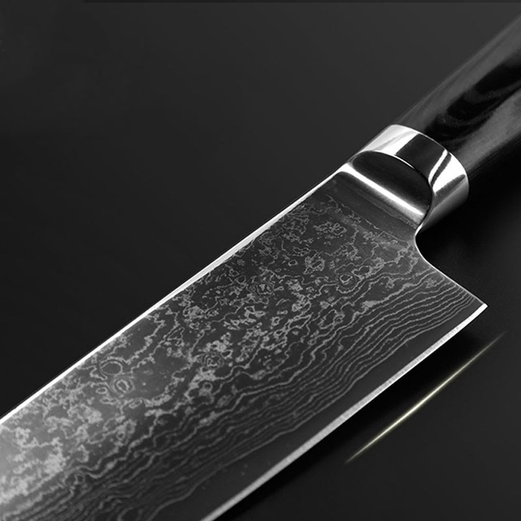 Handhome new VG10 handle damascus knife 8 inch chef knife 71 layers damascus steel kitchen knives cooking tools