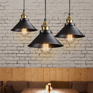 Retro Industrial Vintage Iron Ceiling Decorative Lamp Chandelier Pendant Light Fixture Home Coffe Decor Lighting (Not include th
