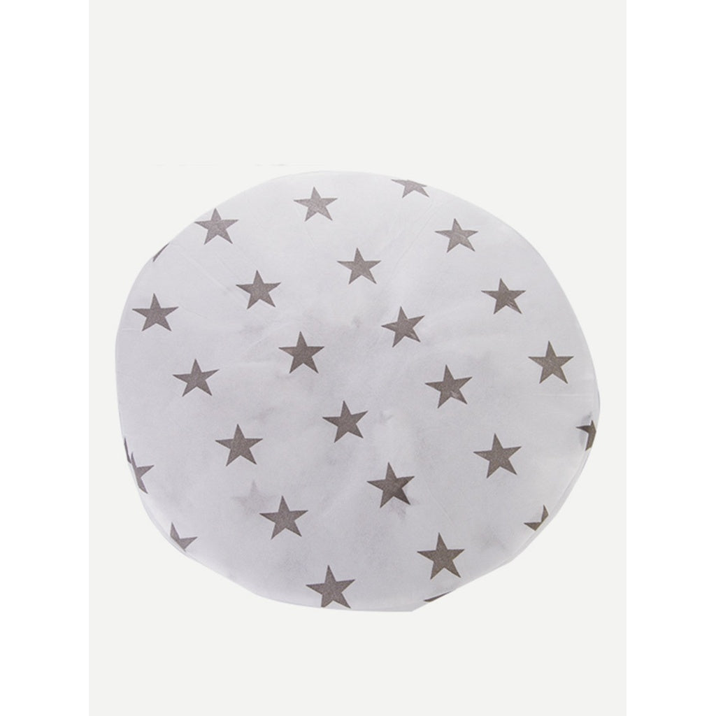 Star Print Round Electric Fan Cover