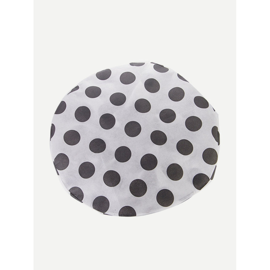 Polka Dot Print Round Electric Fan Cover