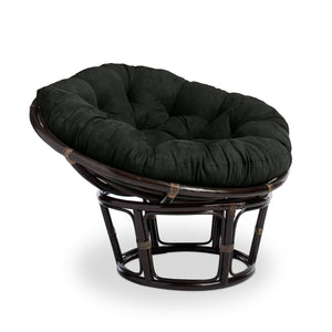 International Caravan Bali 42-Inch Papasan Chair with Cushion