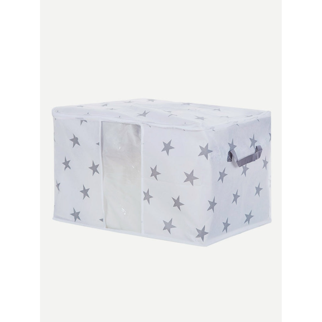 Star Print Quilt Dust Cover