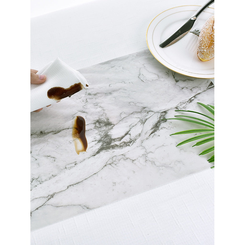 Marble Print Table Mat 2pcs