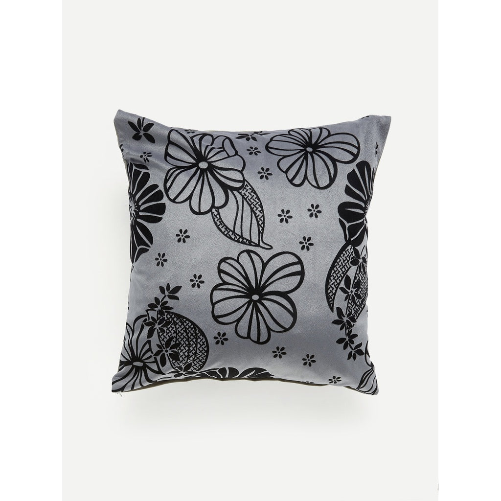 Flower Print Pillow Case
