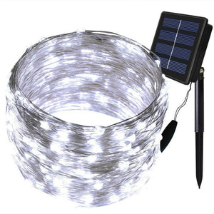 2017 Wannabuy 150LED 72ft Outdoor Solar Powered Copper Wire String Lights, Waterproof Solar Fairy Decoration Lights for Garden,